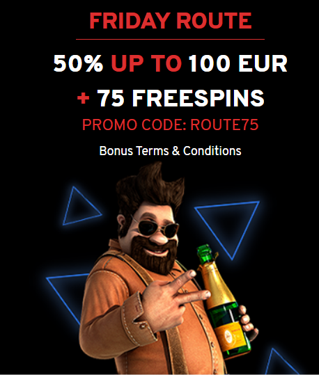 N1 Casino Promo Code on 75 Free Spins - Friday Route