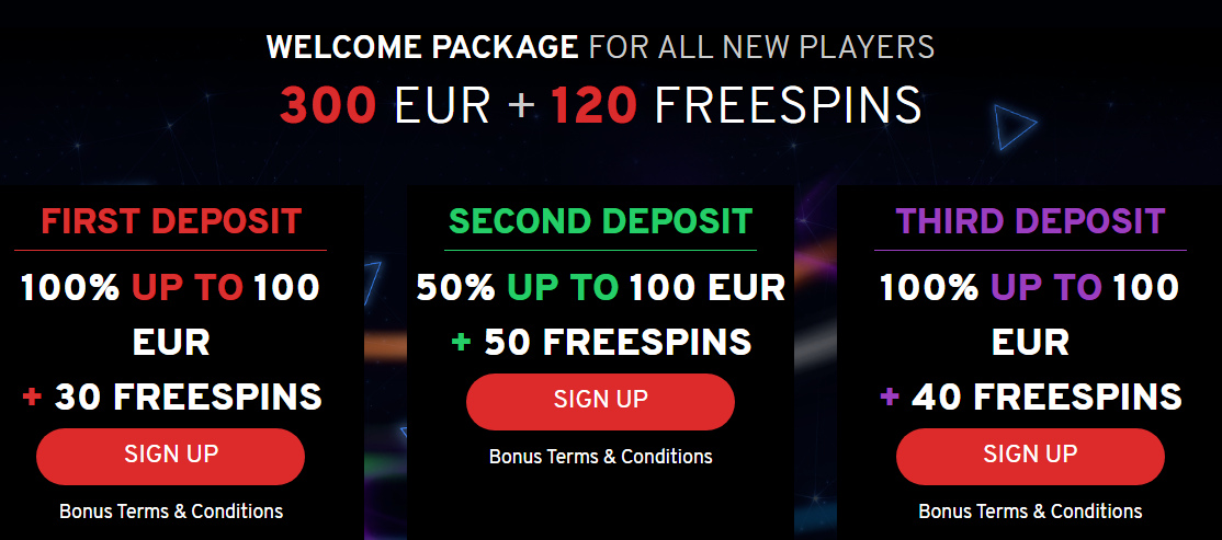 N1 Casino Welcome Bonus Up To 300 EUR + 120 Free Spins