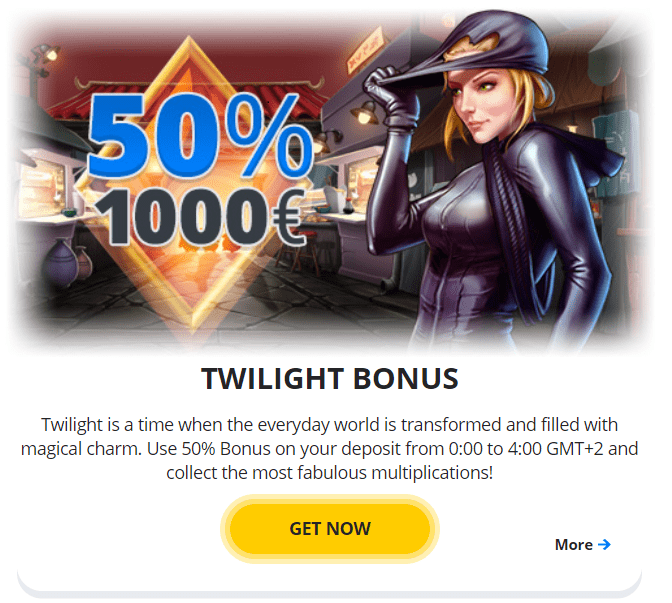 EgoCasino Twinligh Bonus