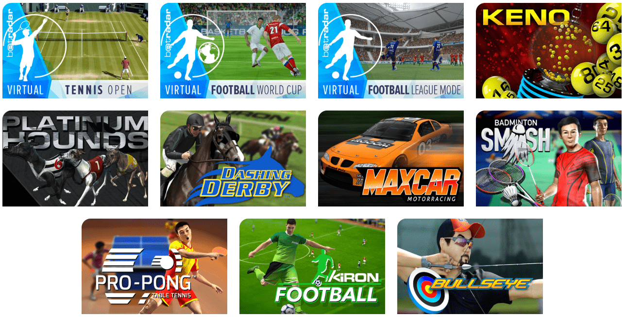 Virtual Sport at Ego Casino