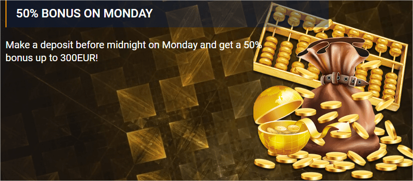 Monday Reload Bonus
